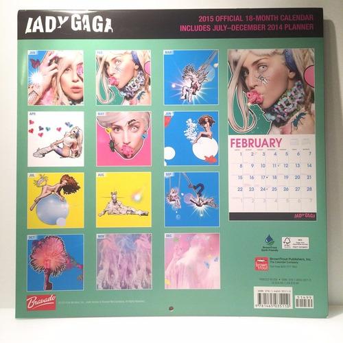 lady gaga - calendario de colección 2015