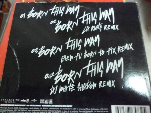 lady gaga cd born this way