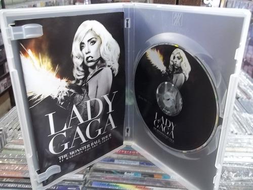 lady gaga monster ball tour dvd original ótimo estado