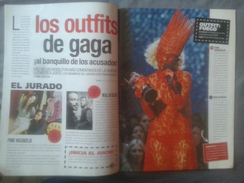 lady gaga revista eres 2010 especial envio gratis