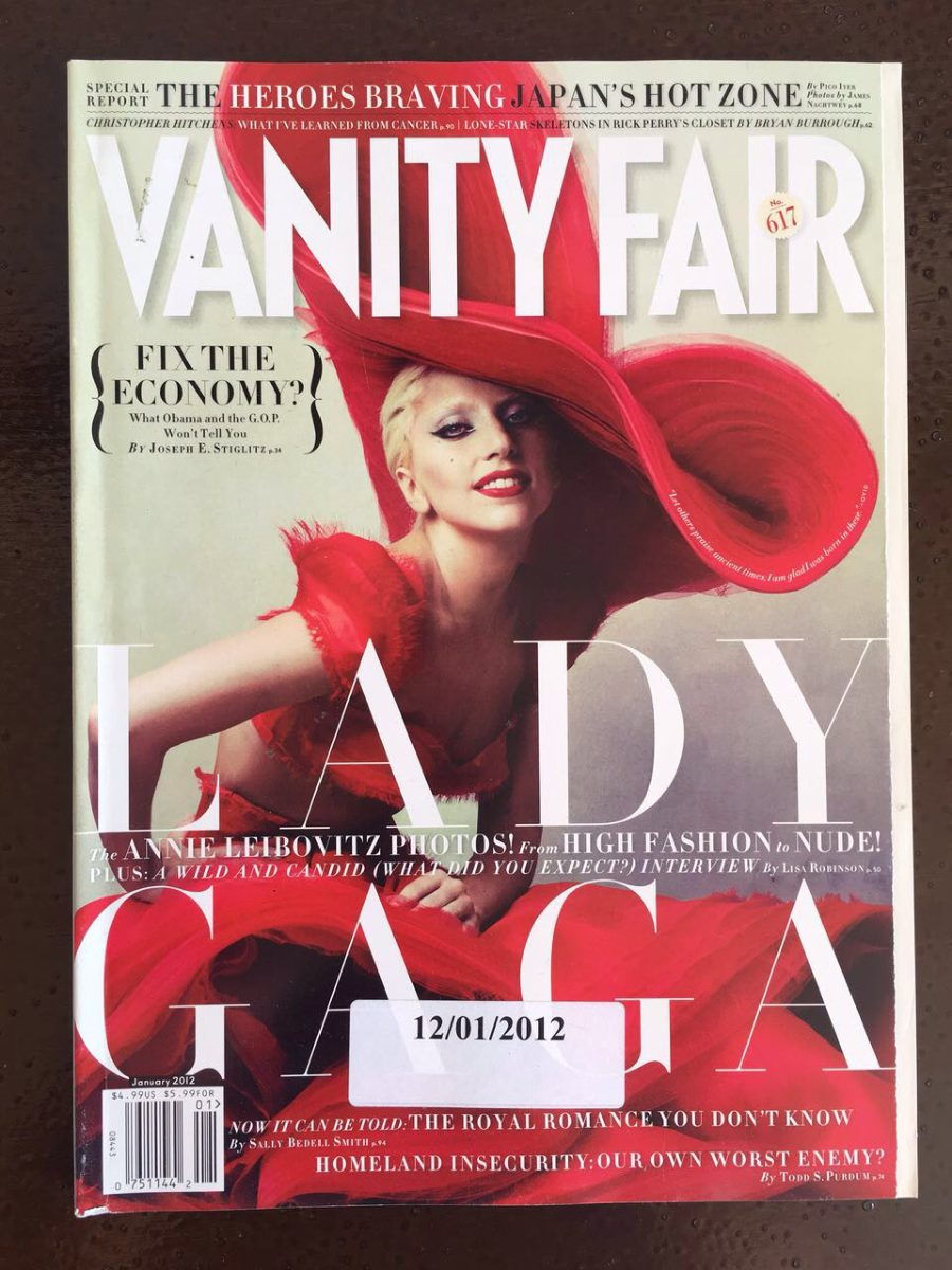 cover Lady fair gaga vanity