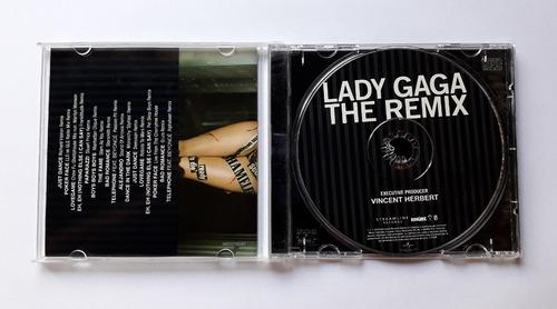 lady gaga the remix album cd