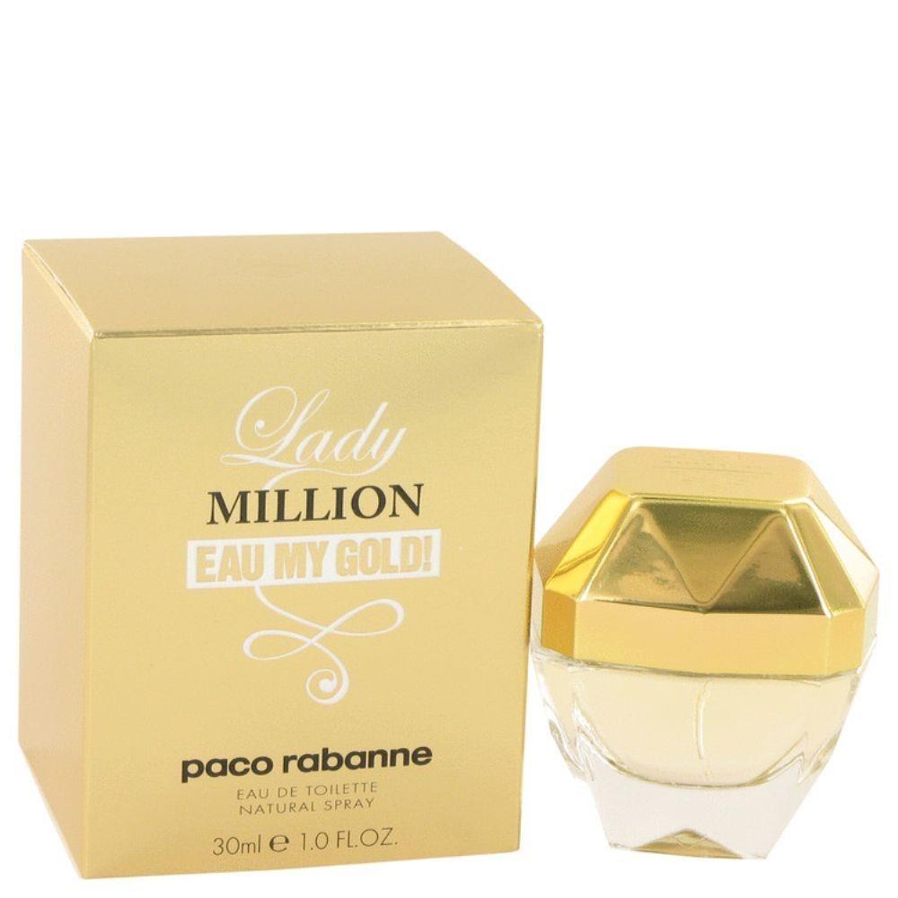 c4100db99 lady million eau my gold paco rabanne edt 30ml original. Carregando zoom.