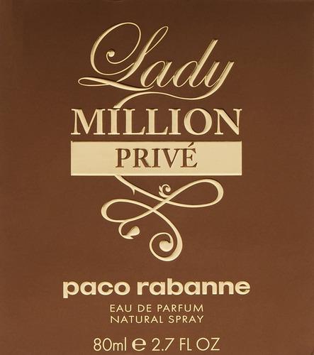 lady million prive eau de parfum 2.7 fl oz 80ml