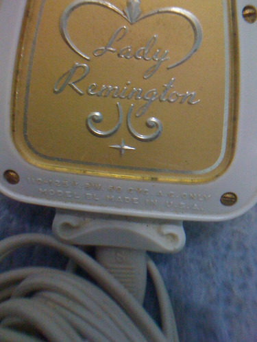 lady remington modelo bl depiladora