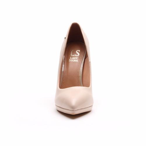 lady stork evangelina - zapato vestir mujer taco alto