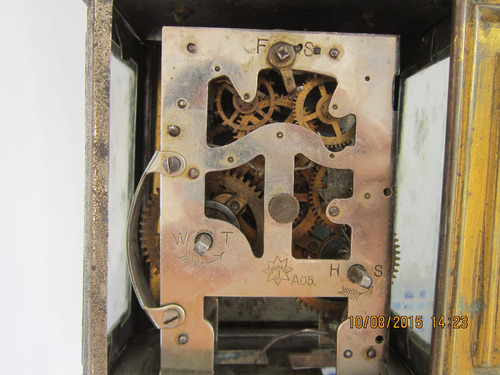 lae antiguo reloj junghans modelo carruaje