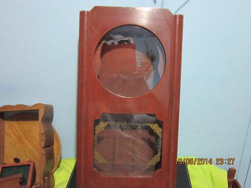 lae caja de madera para reloj de péndulo
