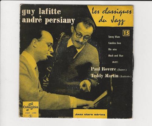 lafitte - persiany quartet - savoy blues - compacto ep 27