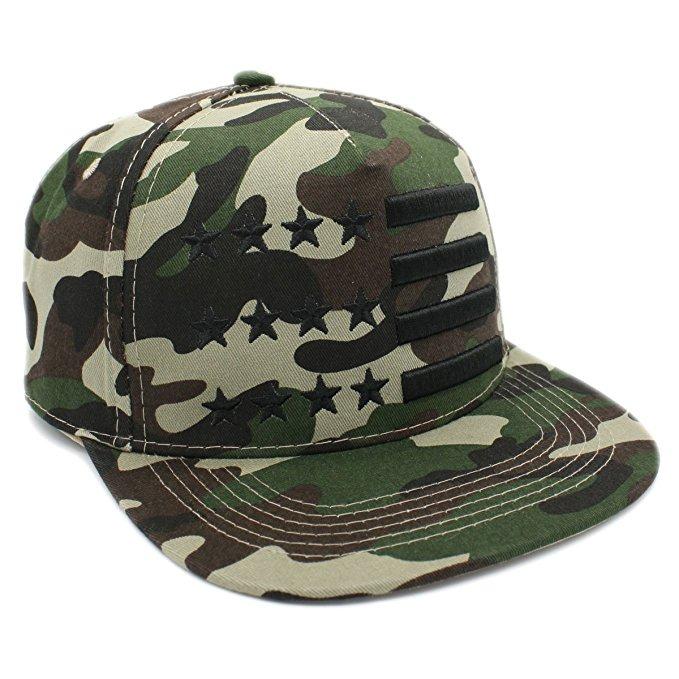 Lafsq Bordado Ee.uu. Snapback Cap Camuflaje Bandera -   942.37 en ... 2b87cdf21b4