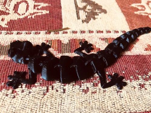 lagartitos articulados 3d