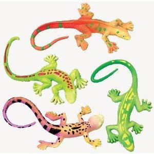 lagarto elástico juguetes (1 docena)