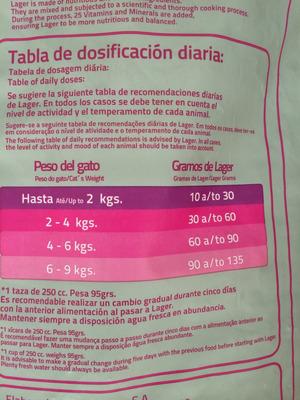 lager gato 10 kg, mix de sabores 31 % de proteina!!! + envio