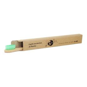 Lagnie 1 Cepillo De Dientes Ecológico De Bambú Con Caja Adulto, Colores Disponibles Al Elegir Variante, Cerda Media Full