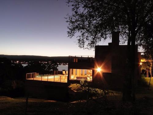 lago los molinos vista - pileta -  sierras de cordoba