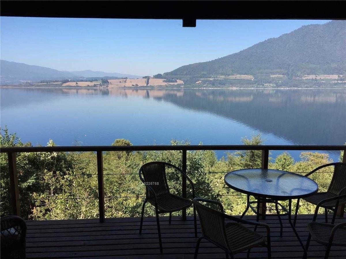 lago rinihue, región de los ríos