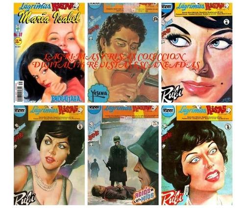 lagrimas y risas coleccion 177 revistas escaneadas digital