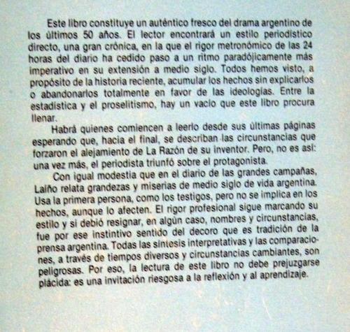 laiño de irigoyen a alfonsin relato del drama argentino