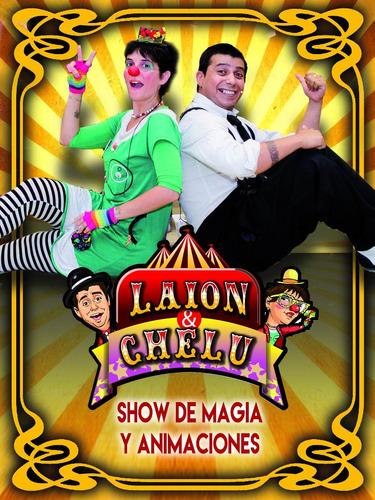 laion & chelu show de magia y animaciones