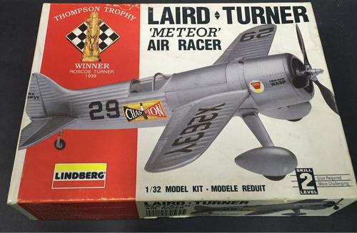 laird turner meteor air race 1:32 lindberg 70562