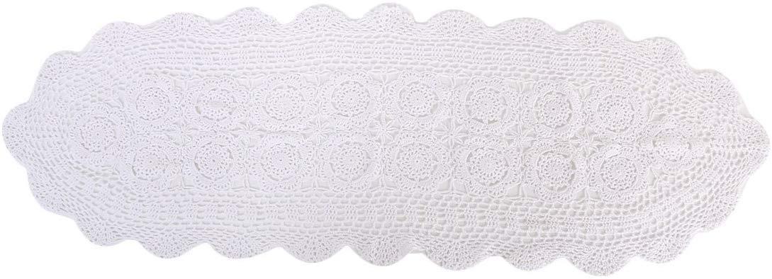 Laivigo Handmade Crochet Lace Cloth Cloth Doilies Tapete ...
