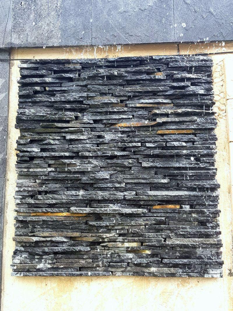 Laja irregular de piedra de recinto para muro llor n en mercado libre - Piedra para muros exteriores ...
