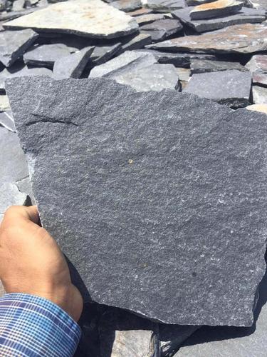 laja negra de marmol
