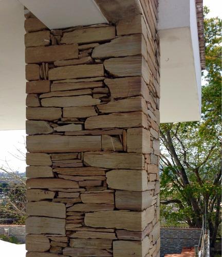 laja (tipo taco) formateada decorativa-revestimiento-constru