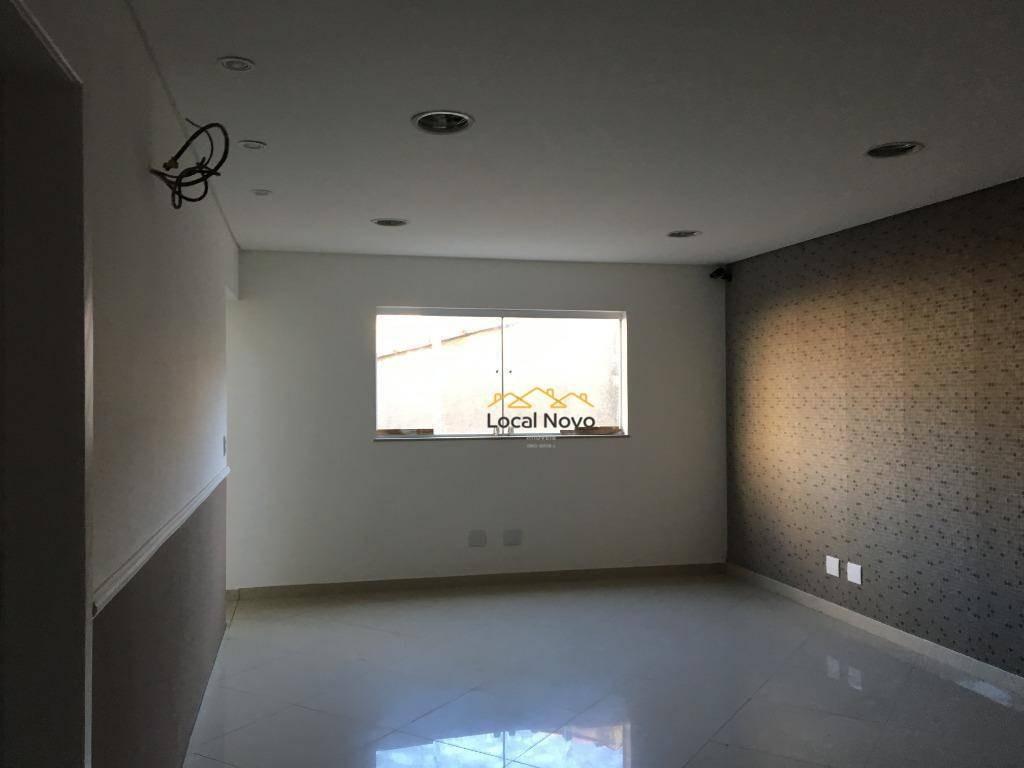 laje para alugar, 456 m² por r$ 11.000/mês - jardim santa mena - guarulhos/sp - lj0001