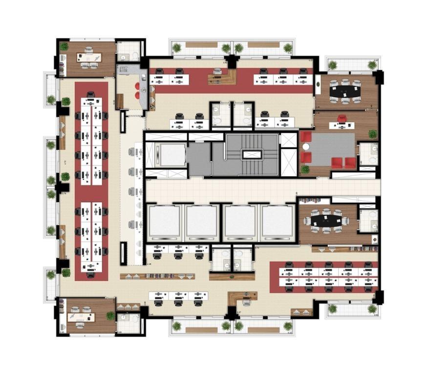 laje à venda, 362 m² por r$ 4.000.000 - santo amaro - são paulo/sp - lj0008