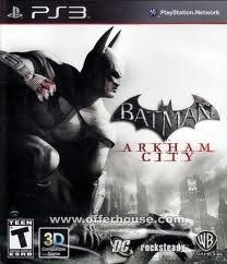 lajeado - rs batman arkham city ps3  pronta entrega