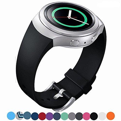 lakvom silicón del estilo del reloj del deporte de la venda
