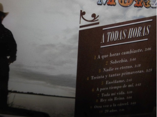 lalo mora a todas horas cd sellado