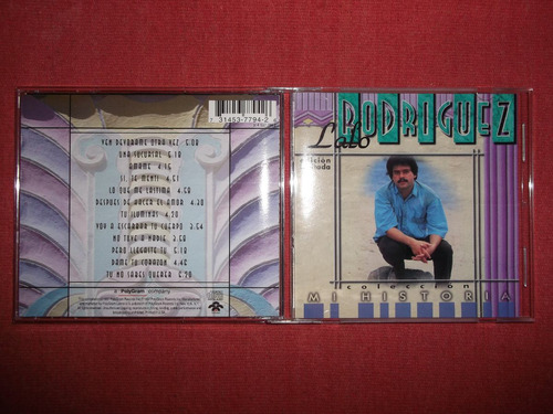 lalo rodriguez - mi historia cd usa ed 1997 mdisk