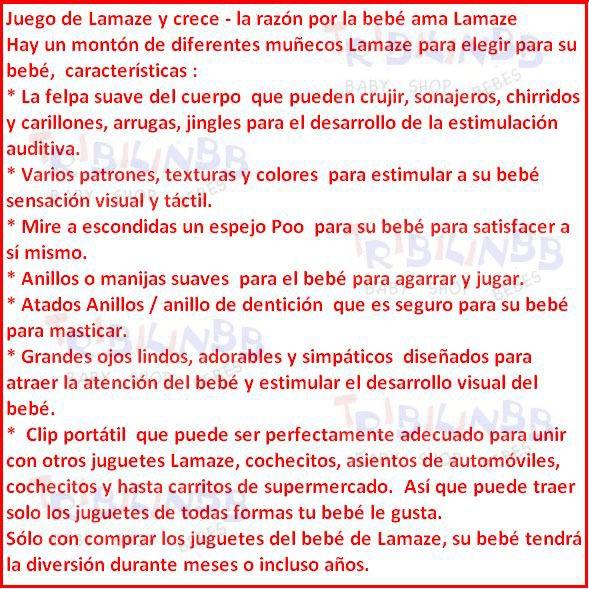 Lamaze Buho Sonajero Juguetes Para Bebes Los Mejores - $ 299,99 en ...