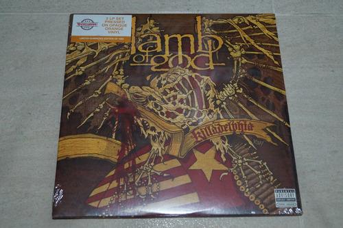 lamb of god killadelphia vinilo rock activity