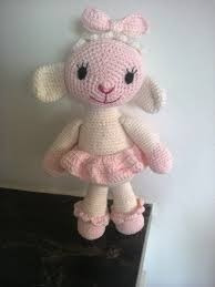 lambie, tejido a crochet