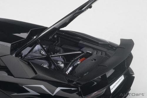 lamborghini aventador lp750-4 sv gloss black