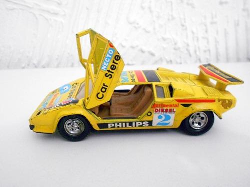lamborghini countach 1/30 guisval #coleção #miniatura #carro