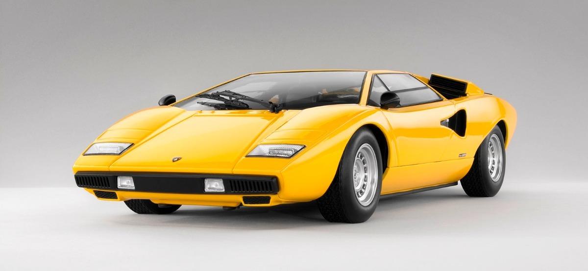 Lamborghini Countach Lp400 1974 , Kyosho 1/18 , $ 19.360,00