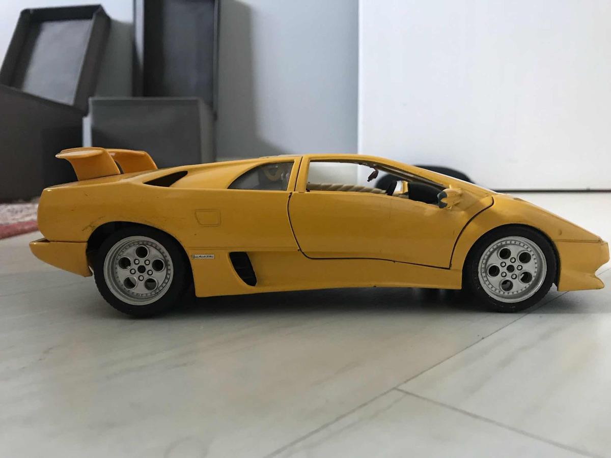 Lamborghini Diablo 1 18 Bburago R 99 00 Em Mercado Livre
