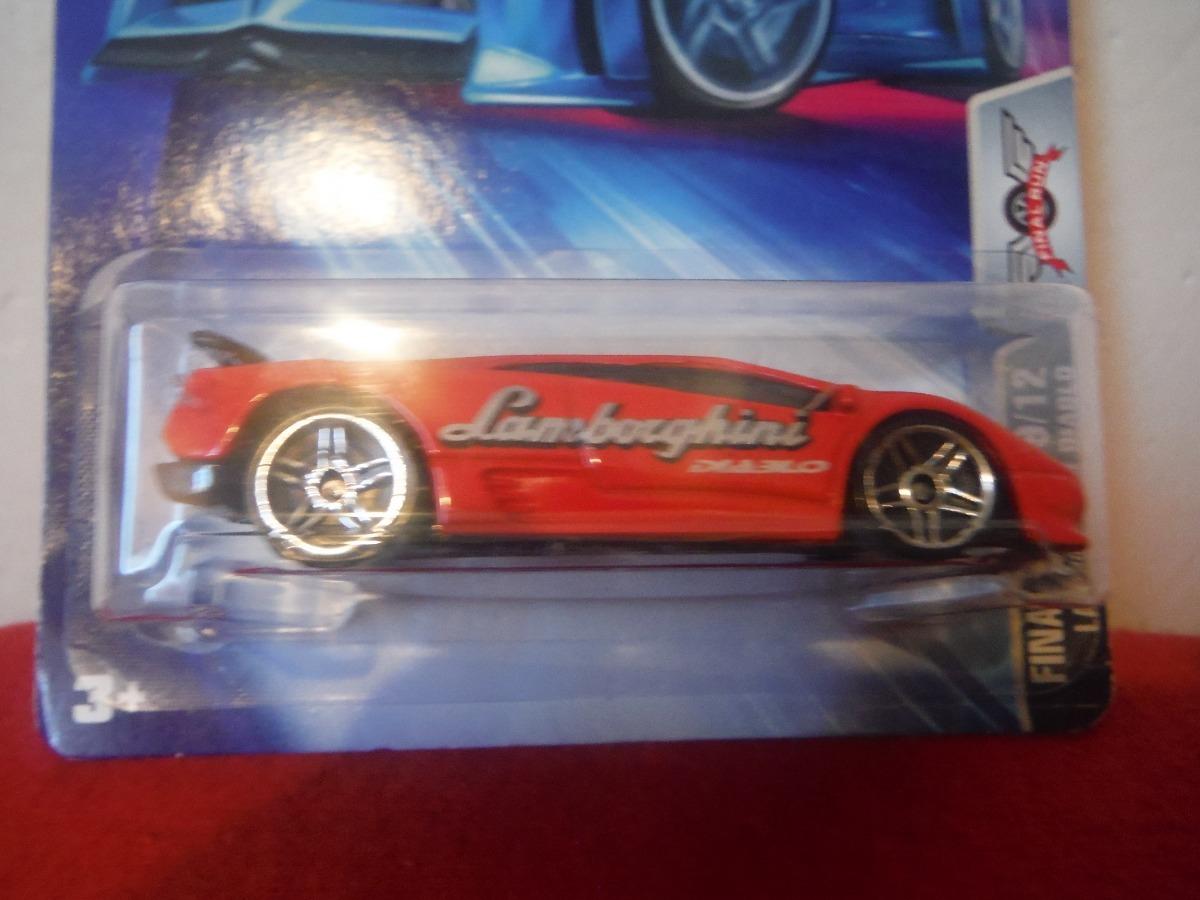 Lamborghini Diablo 2003 Final Run Hot Wheels 949 00 En Mercado Libre