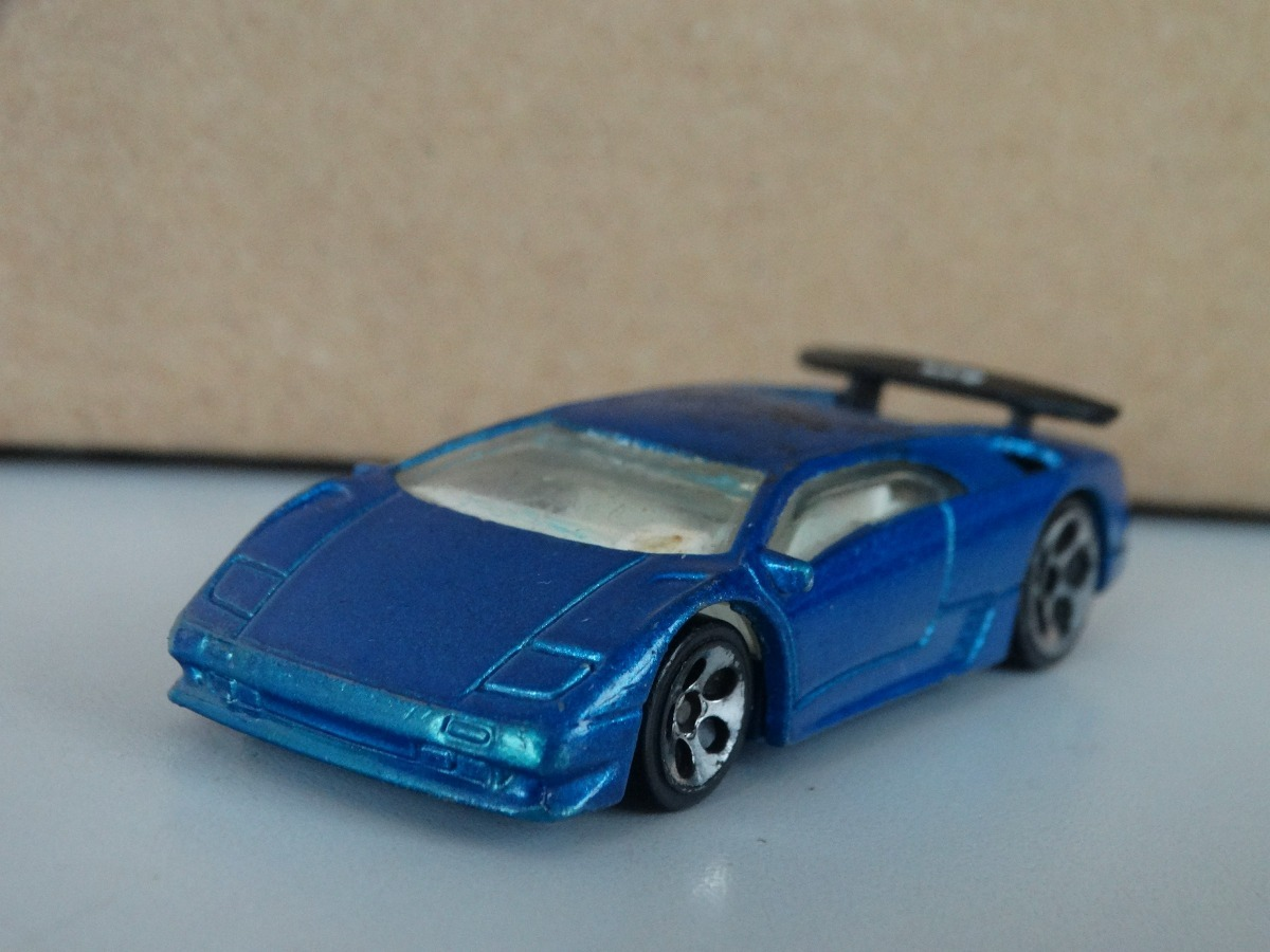 Lamborghini Diablo Azul Hot Wheels 2000 1 64 Loose R 30 00 Em