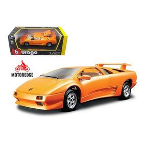 Lamborghini Diablo Naranja Burago 1 24 Nuevo Oferta