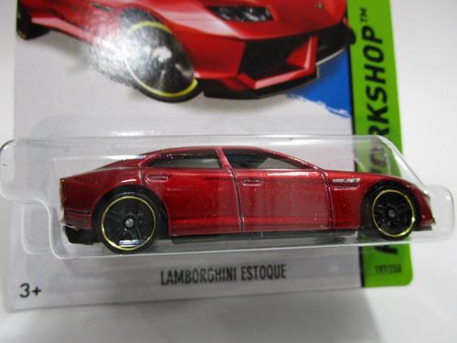 lamborghini estoque escala miniatura coleccion hot wheels