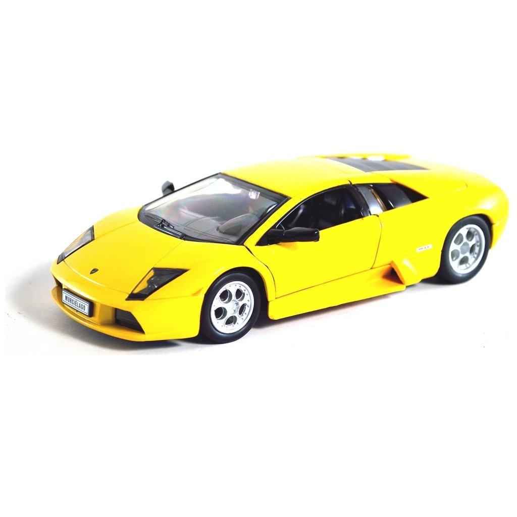 Lamborghini Murcielago Escala 1 24 Amarillo 900 00 En Mercado