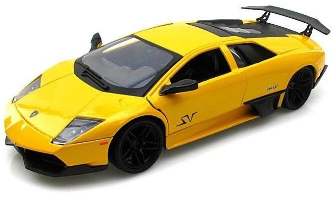 Lamborghini Murcielago Lp 670 4 Sv 1 24 Motor Max Amarillo 1 250