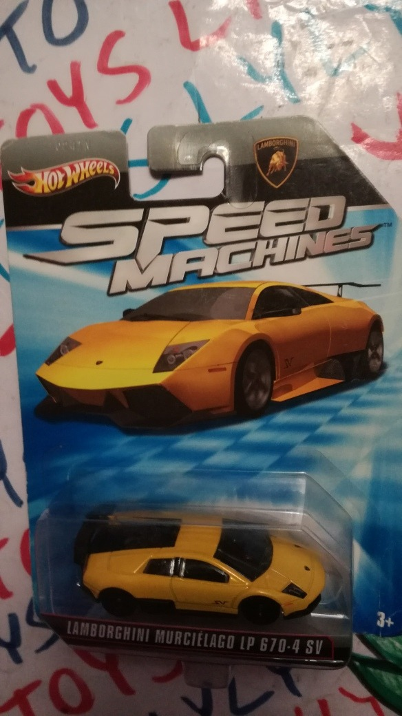 Lamborghini Murcielago Lp 670 4 Sv Hot Wheels Speed Machin