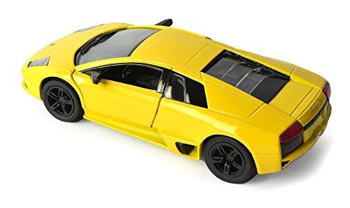 Lamborghini Murcielago Lp640 Amarillo R Kinsmart 5317d R 13