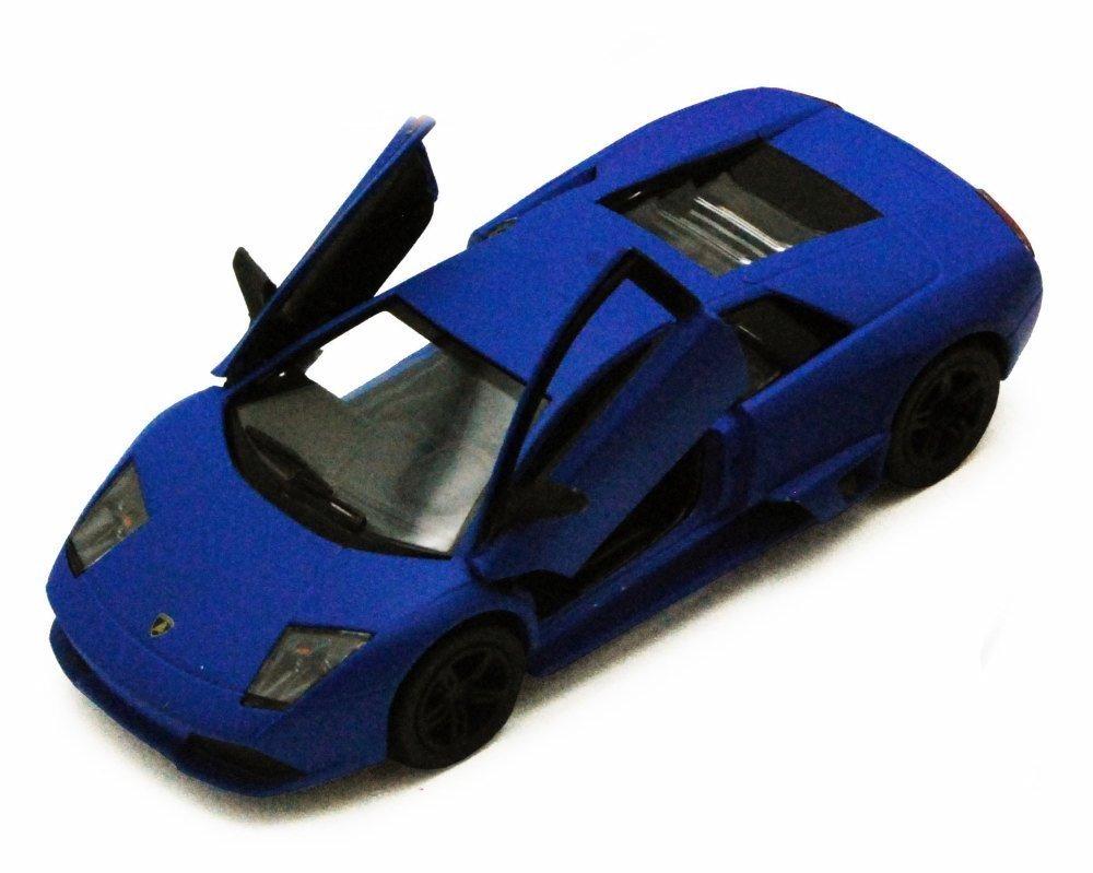 Lamborghini Murcielago Lp640 Azul Kinsmart 5370d 1 1